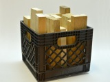 Crate of 2x4 cribbing (wood)