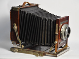 Deardorff wooden 8 x 10 view camera, #C201