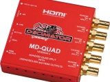 DECIMATOR MD-QUAD 3G/HD/SD-SDI Quad Split Multi-Viewer