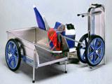 Tipke Foldit Folding Beach Cart