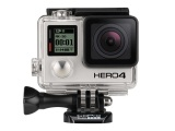GoPro HERO4 Black 4K Waterproof Camera w/32GB SD