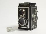 Ikoflex twin lens reflex camera prop #C231