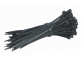5 in. Black Cable Ties, 100 Pack