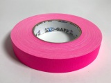 "Tape, Gaffer's Tape, 1"" Fluorescent Pink"