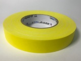 "Tape, Gaffer's Tape, 1"" Yellow"