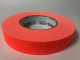 "Tape, Gaffer's Tape, 1"" Fluorescent Orange"