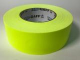 "Tape, Gaffer's Tape, 2"" Fluorescent Yellow"