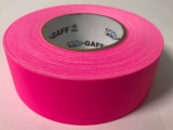 "Tape, Gaffer's Tape, 2"" Fluorescent Pink"