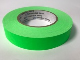 "Tape, Paper, 1"" Fluorescent Green"