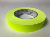 "Tape, Paper, 1"" Fluorescent Yellow"