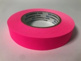 "Tape, Paper, 1"" Fluorescent Pink"
