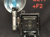 Speed Graphic 4x5 Camera Prop, #C211