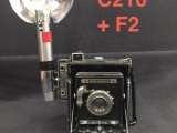 Speed Graphic 4x5 Camera Prop, #C210
