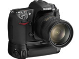 Nikon D300 body with grip