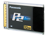 Panasonic P2 card, 32GB (w/camera)
