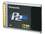 Panasonic P2 card, 64GB (w/camera)