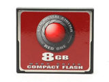 RED 8GB Compact Flash
