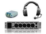 RTS Hardwired Intercom System, 6 Stations