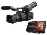 Sony NEX-FS700UK 4K Camcorder, 18-200mm Lens, Odyssey 7Q