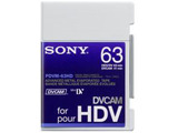 Sony PDVM-63HD, DVCAM for HD Tape