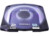 Sony PFD50DLA/2 XDCAM Dual Layer Professional Disc