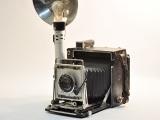 Speed Graphic 4x5 Camera Prop, #C211