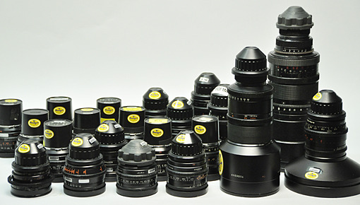 Rent a large selection of Zeiss lenses at Budget Video